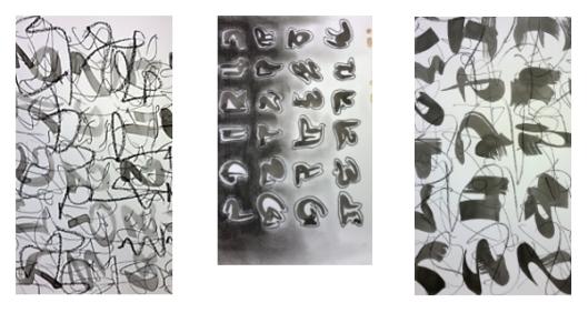 expression gestuelle atelier ViroflArt 27 fevrier