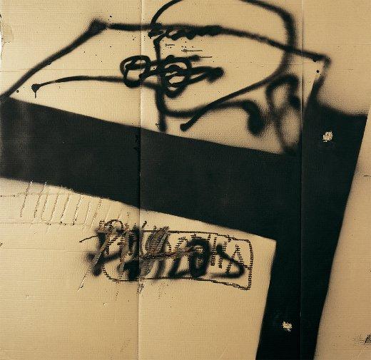 Cartó amb T negra, 2000