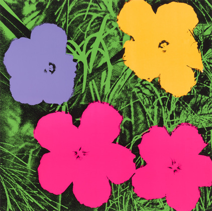 "Andy Warhol, Untitled from ""Flowers"", 1970"