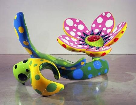 "Yayoi Kusama, ""Flowers That Bloom at Midnight M2A"", 2009"