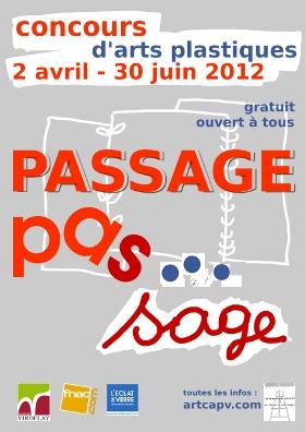affiche CAPV concours arts plastiques 2012