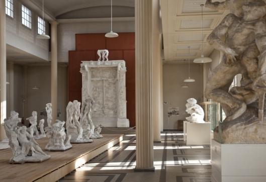 Musee Rodin Meudon Vue interieure  - photographe Jérôme Manoukian