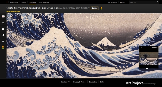 Hokusai - La Grande Vague de Kanagawa -  The Great Wave Off the Coast of Kanagawa - Edo period, 19th century