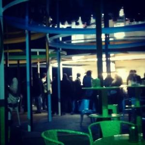 monumenta 2012, daniel buren, nuit des musées, le bar