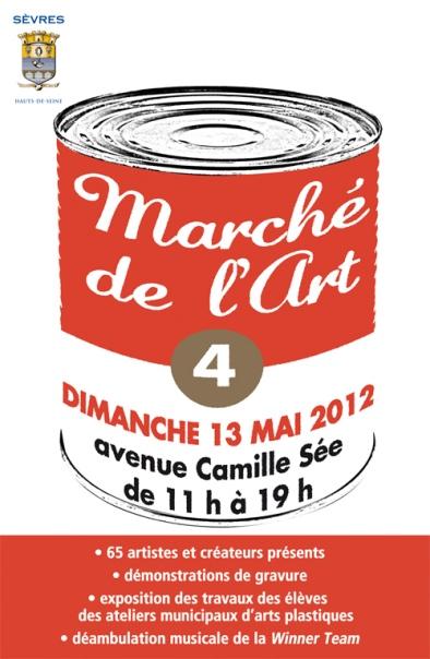 affiche sevres 4e marche de l art 2012