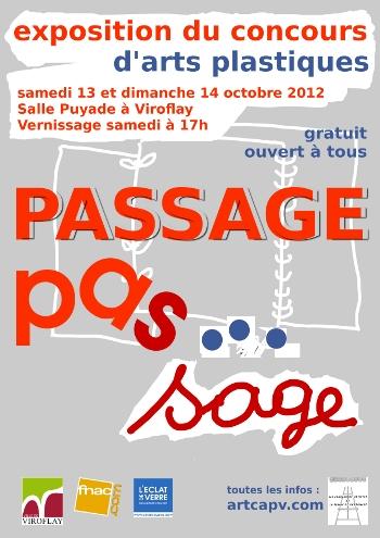 affiche CAPV expo passage A4 350