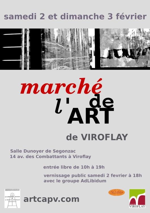 CAPV marche de l'art 2013 affiche