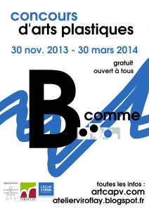 affiche concours capv 2014 b comme
