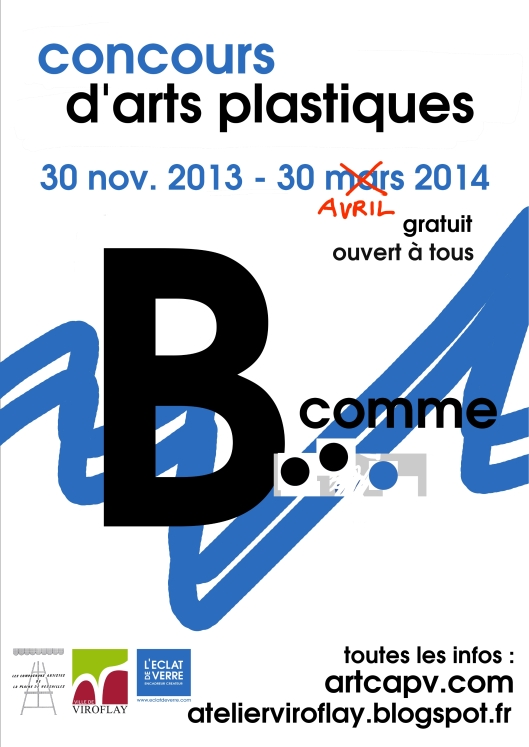 affiche CAPV concours b comme 30 avril A4