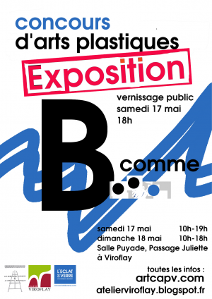 affiche CAPV expo concours b comme