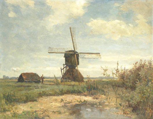 'Zonnige dag', Paul Joseph Constantin Gabriël, 1860-1903