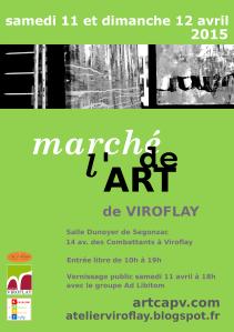 CAPV marche art 2015 affiche A4