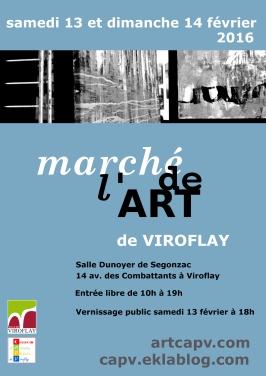 Marche de l'Art de Viroflay 2016 - affiche
